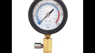 Самодельный компрессометр VS заводского Intertool