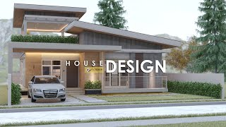 MODERN HOUSE DESIGN with DECK | 10.00m x 11.00m (159 sqm TFA) | 2 BEDROOM