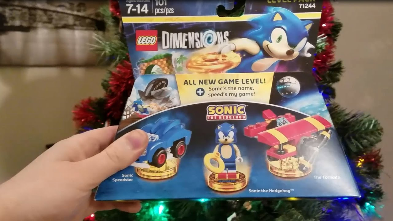 Sonic The Hedgehog Lego Dimensions Level Pack Unboxing Youtube