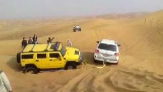 Arabian Offroad Academy - Land Cruiser rescues Hummer H2 thumbnail