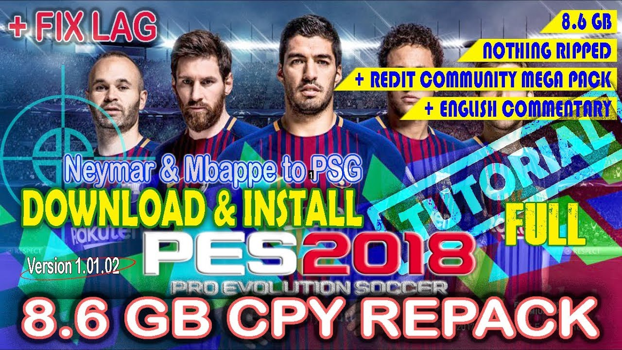 pes 2018 free download pc cpy