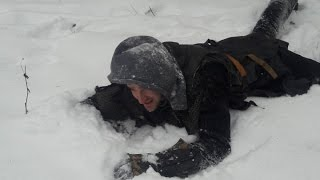Лютые морозы в Минске