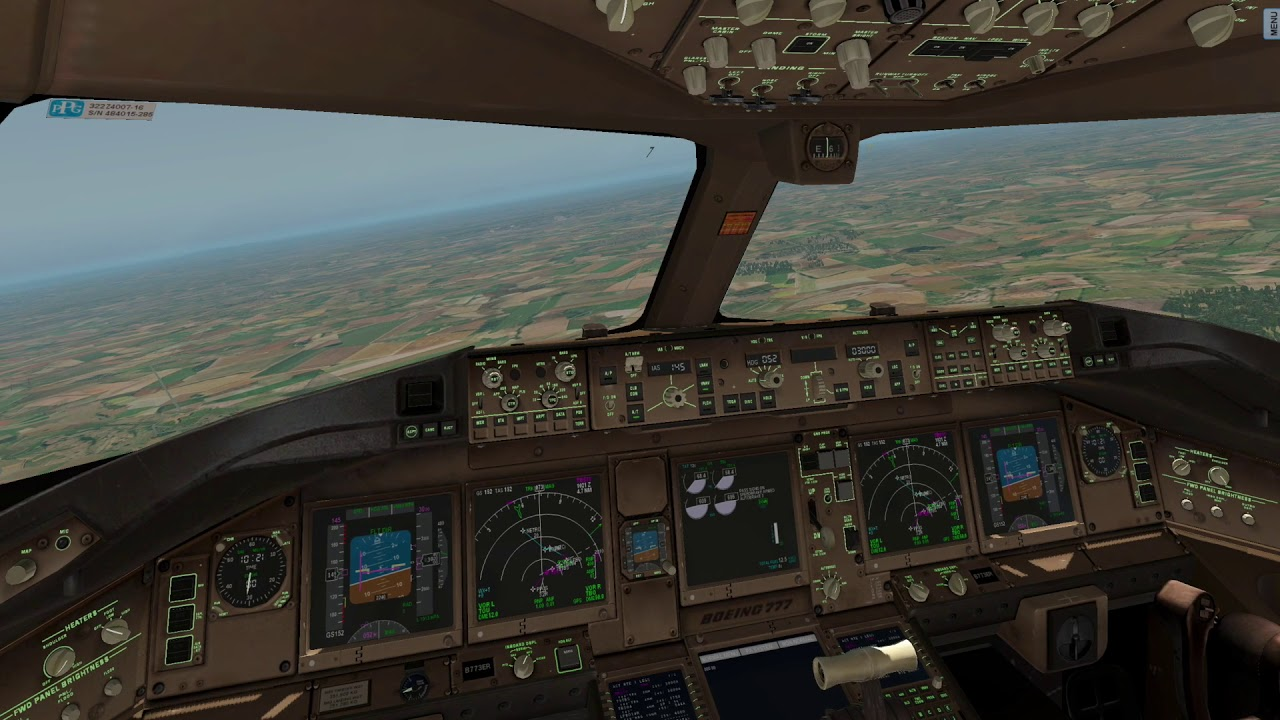 X-PLANE 11 Boeing 777-300ER Air France