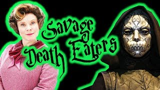 Most SAVAGE Harry Potter Death Eaters of all time!