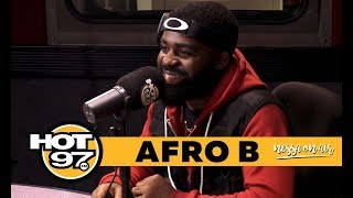 Afro B on His Song Joanna, Shaq's Remix and Future Dream Collabs