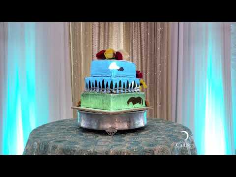 Quinceañera Cake Mapping
