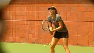 Us OPen 2011 - Maria Sharapova practice