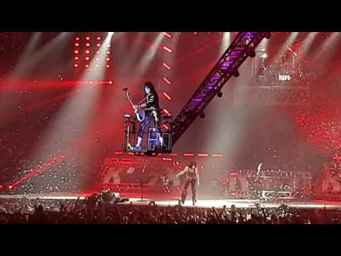 Kiss - Rock and Roll All Night - Birmingham Barclaycard Arena - 28th May 2017