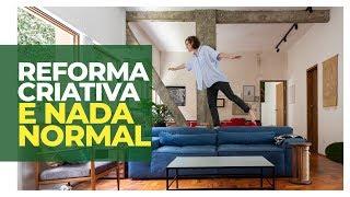 REFORMA COM ECONOMIA E CRIATIVIDADE  - ELA FEZ SOZINHA A MARCENARIA DO SEU PRIMEIRO APARTAMENTO