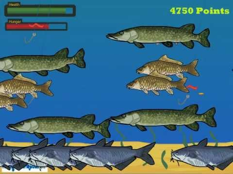 Little Bass Survival - Free Online Fish Game