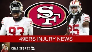 49ers Injury News: Richard Sherman & Dee Ford OUT, NFC Playoff Picture & Week 15 49ers vs. Falcons