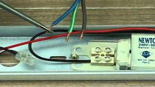 Cara Pemasangan Lampu Pendaflour / Kalimantang