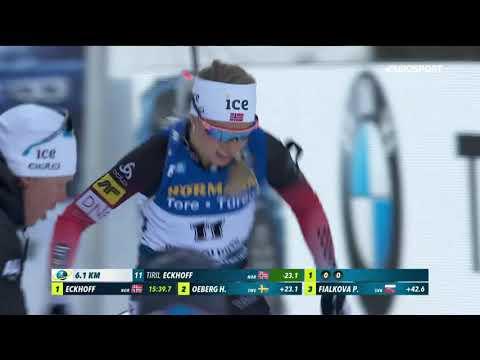 Экхофф выиграла спринт в Рупольдинге и захватила лидерство в общем зачете