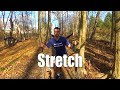 My stretch routine while hiking