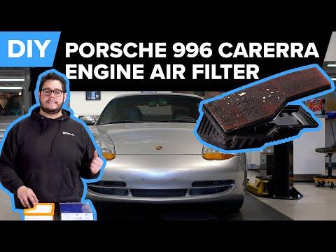 Porsche 996 911 Engine Air Filter Replacement DIY – Porsche Carrera, Carrera S, & Targa