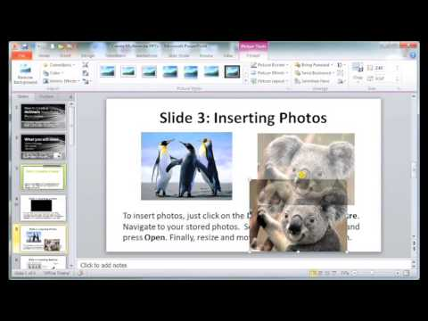 How to Create a Multimedia PowerPoint Presentation