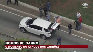 EXCLUSIVO: Roubo de carro na zona leste