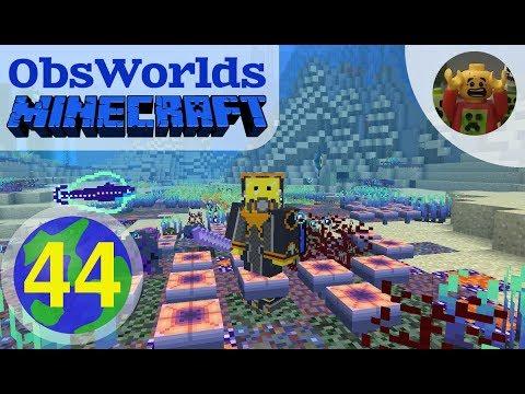 Jim Plays ObsWorlds Minecraft E44 - Oceanic Depths