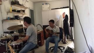 Hoa Cài Mái Tóc - Hòa Tấu Guitar - Drum