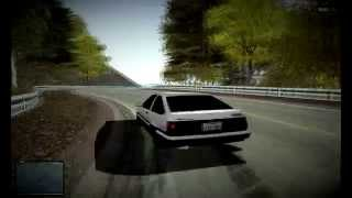 Okutama, Amateur Drift AE86