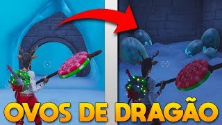 I FOUND DRAGON EGGS AT THE FORTNITE! * SECRET ROOM *