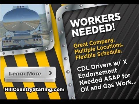 Oil field truck driving jobs