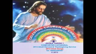 celestial church of christ comforter cathedral akoka parish 1 choir 2013 harvest songs compilations