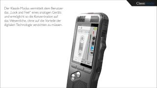 Philips Digital Pocket Memo - Klassik-Modus