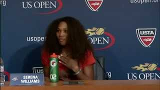 Serena Williams Talks 2012 US Open Semifinal Win