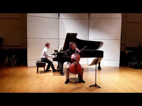 Brahms Sonata For Piano And Cello In F Major Op.99 Mvmnt II