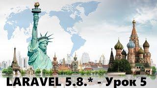 5.Laravel 5.8.* - Урок 5. Регистрация. Авторизация. Разделение Ролей. Middleware. MVC. Часть 1