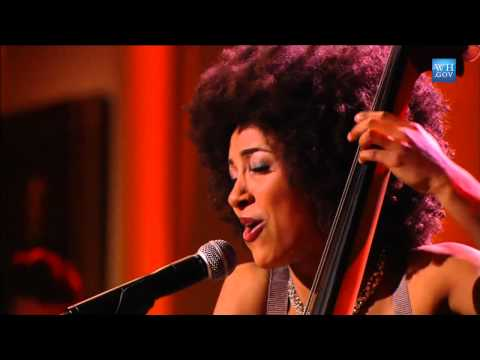 Esperanza Spalding performs
