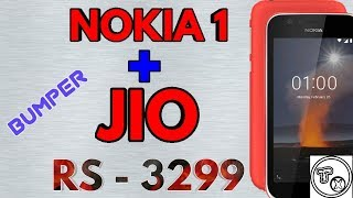 NOKIA 1 and JIO @  JUST RS - 3299 ....MY OPINION.... in TAMIL...