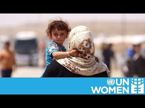 65 Million people currently displaced by violence | Half of them are women and girls