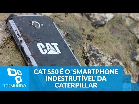 Duro na queda: CAT S50 � o † smartphone indestrut�vel † da Caterpillar