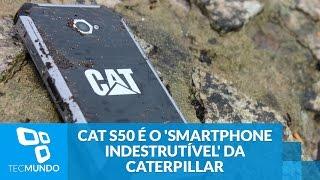 Duro na queda: CAT S50 é o 'smartphone indestrutível' da Caterpillar