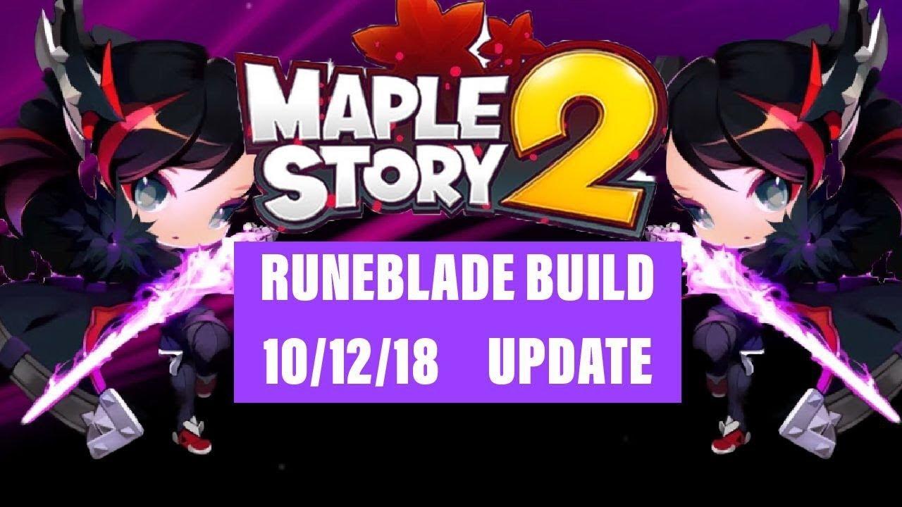 Maplestory 2 Striker Build