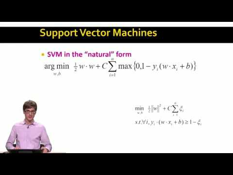 Soft Margin SVMs | Mining of Massive Datasets | Stanford University