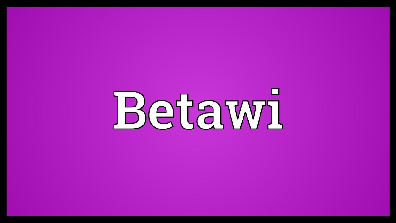 Betawi Meaning Youtube