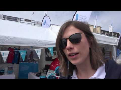TRANSAT bakerly Plymouth  1st May 2016 Skippers Traders and Artists in the Barbican