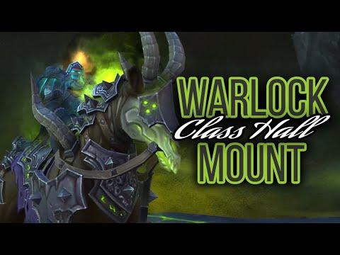 Legion Warlock Class Hall Mount In 8.3 - World Of Warcraft