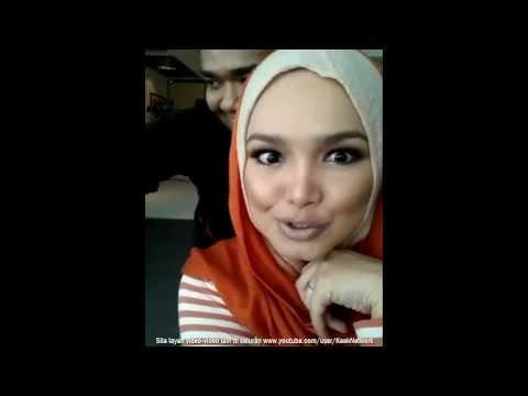 Jangan Terkejut Tengok Muka Dato' Siti Nurhaliza Ni