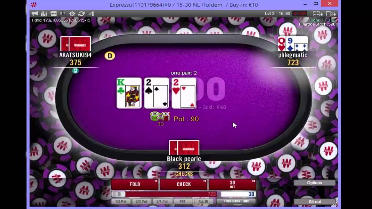 Expresso 500 Winamax Poker Youtube