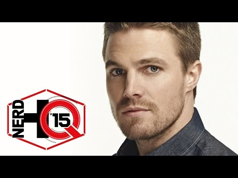 Stephen Amell Interview - Nerd HQ: Comic-Con 2015