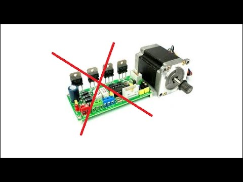 Hacked unipolar stepper motor without driver youtube for How to check stepper motor