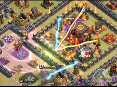 Clash of Clans Clan Wars LIVE Attacks! An Epic War Begins!