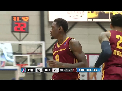 Highlights: Larry Sanders' 3rd Game With Canton Charge (10p/9r/3b)