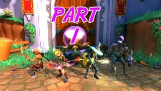 The FGN Crew Plays Dungeon Defenders 2 Part 1 - The Gates of Dragonfall (PC)