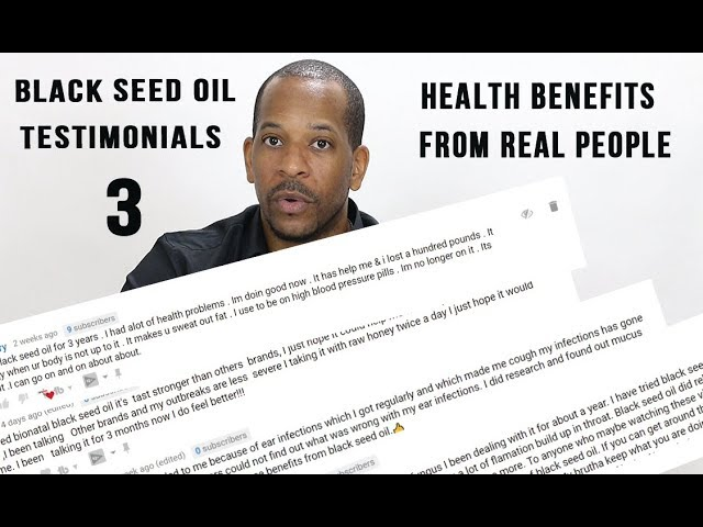 BLACK SEED OIL TESTIMONIALS PART 3 | FIBROIDS, LUPUS, HERPES ...