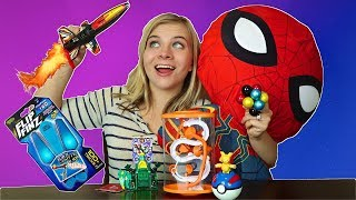 REVIEWING AND TESTING OUT NEW KIDS TOYS! // SoCassie